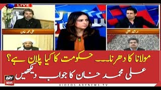 Ali Muhammad Khan replies over govt's plan about Azadi March