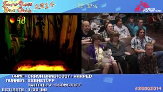 Summer Games Done Quick 2014 - Part 2 - Crash Bandicoot: Warped