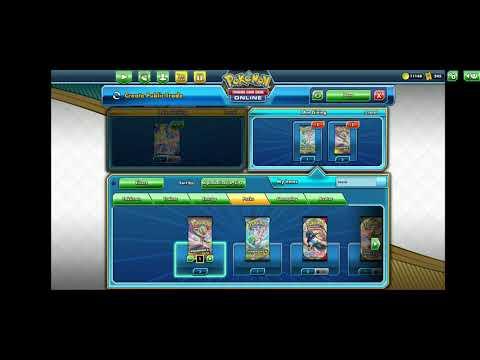 Cách Trade,Kiếm Card có thể trade được trong game Pokemon Trading Card Game Online,PKM TCGO VN