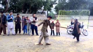 At Benazir bhutto Shagaran Kharkoo Malayar on eid day (Ali and zeeshan dance on pashto music )Gilgit