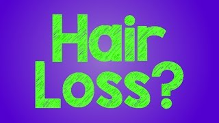 Reasons For Hair Loss Thumbnail