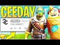 Playing Fortnite with CEEDAY.... (using hacks)