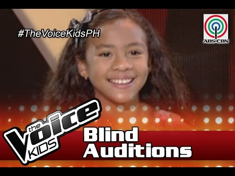 """The Voice Kids Philippines 2016 Blind Auditions: """"I Wanna Dance With Somebody"""" by Yssa"""