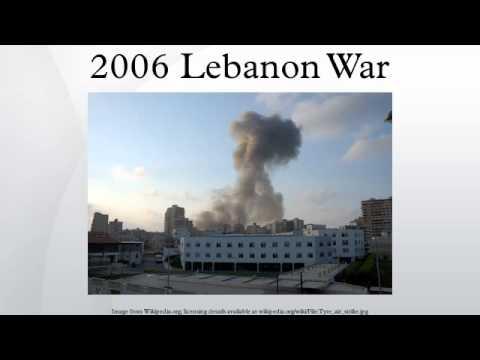 2006 Lebanon War