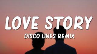 "Taylor swift - love story (lyrics) ""disco lines full remix"" ~ tiktok songfollow swift:http://www.instagram.com/taylorswifthttp://www.facebook.com/tayl..."