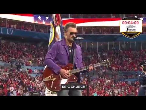 Eric Church U0026 Jazmine Sullivan / National Anthem / Super Bowl 2021