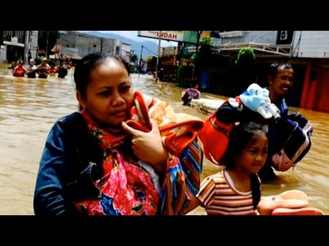 State of emergency declared in Indonesia as floods worsen