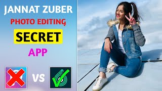 Jannat Zubair photo editing secret Android app | Jannat Zubair photo editing | SAMIM EDITZ