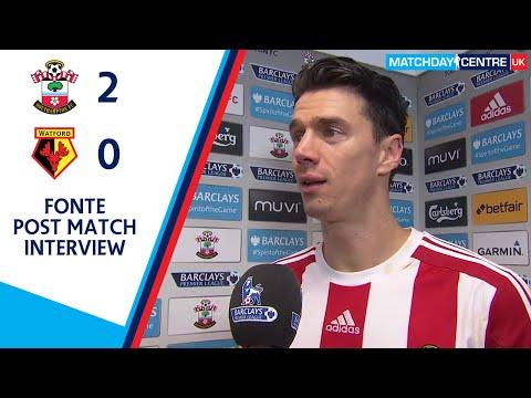 Southampton 2-0 Watford : Jose Miguel Fonte Interview