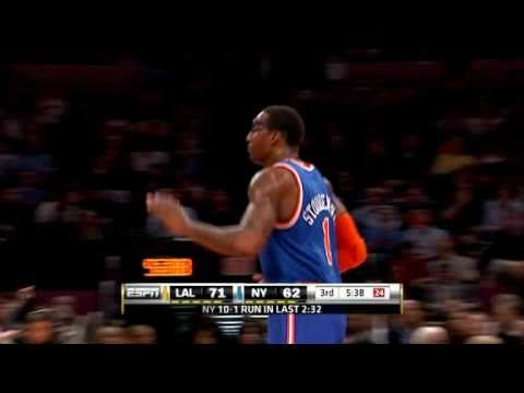 LA LAKERS BLOW OUT NY Knicks, 113 to 96!  KOBE! GASOL! BYNUM! ODOM! BROWN! GO LAKERS!