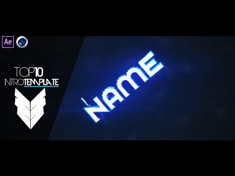 TOP 10 Intro Template #4 Cinema4D,After Effects CS4 + Free Download
