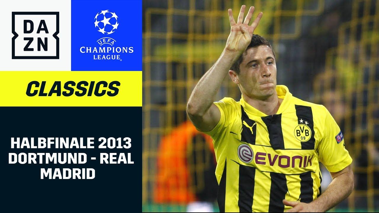 Viererpack! Lewandowski-Gala gegen Real Madrid | UEFA Champions League | DAZN Classics