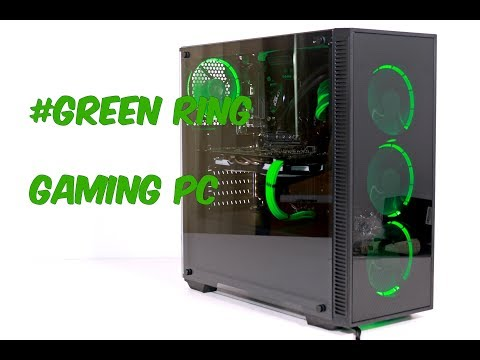 #GREEN RING PC Build    ~Time Lapse~