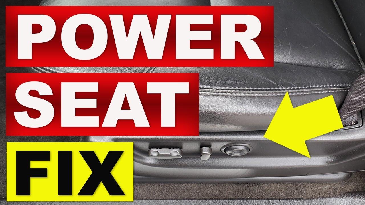 hight resolution of power seat fix 2007 2011 tahoe yukon suburban chevy gmc