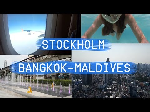TRAVEL VLOG # 1 BANGKOK - MALDIVES