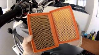 R1200GSW Full Service Air Filter Change Part Four