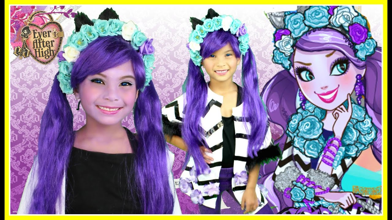 Kitty cheshire ever after high makeup tutorial and diy costume kitty cheshire ever after high makeup tutorial and diy costume tutorial youtube solutioingenieria Choice Image