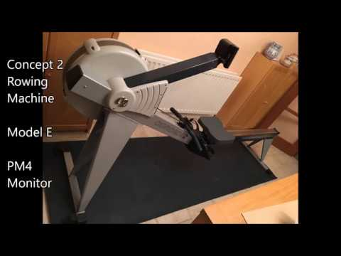 concept 2 model e rowing machine youtube. Black Bedroom Furniture Sets. Home Design Ideas