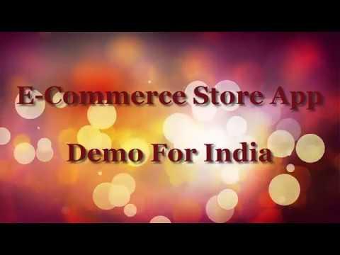 E Commerce Store App demo For india