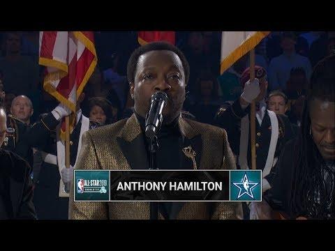 Stichiz - NBA AllStar Game: Anthony Hamilton Sings and Team Lebron Dances