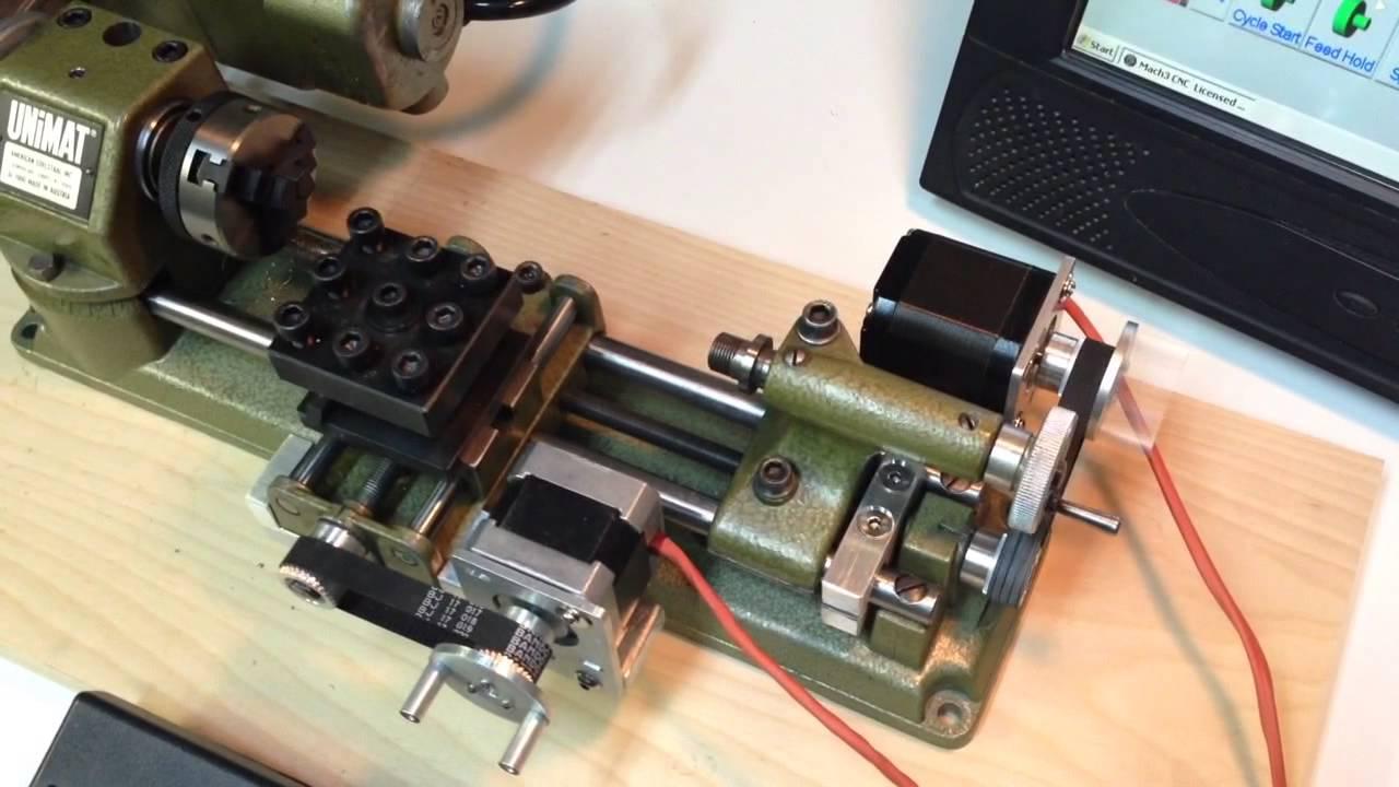 Unimat SL1000 CNC conversion