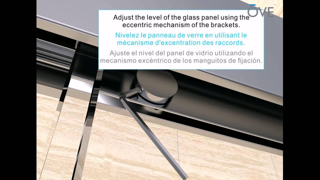 Ove Granada Alcove Shower Installation Youtube