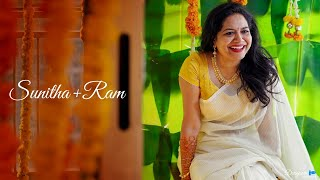 Sunitha + Ram Veerapaneni l Wedding Film Teaser | #SunithaRam