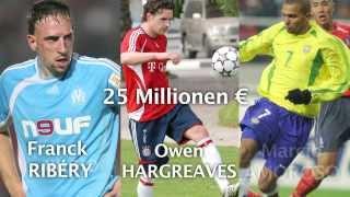 Die Top Ten der Bundesliga-Transfers: De Bruyne nicht dabei