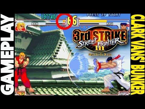 SFIII 3RD STRIKE GAMEPLAY: Clark Vans casi hace 2 COMEBACKS en el Street Fighter 3