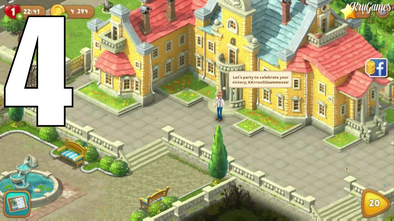 Ordinaire Gardenscapes   New Acres Android Gameplay #4   Level 16 ~ 19