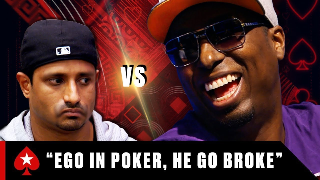 Two Poker Players ROASTING each other ♠️ Poker Rivals ♠️ PokerStars