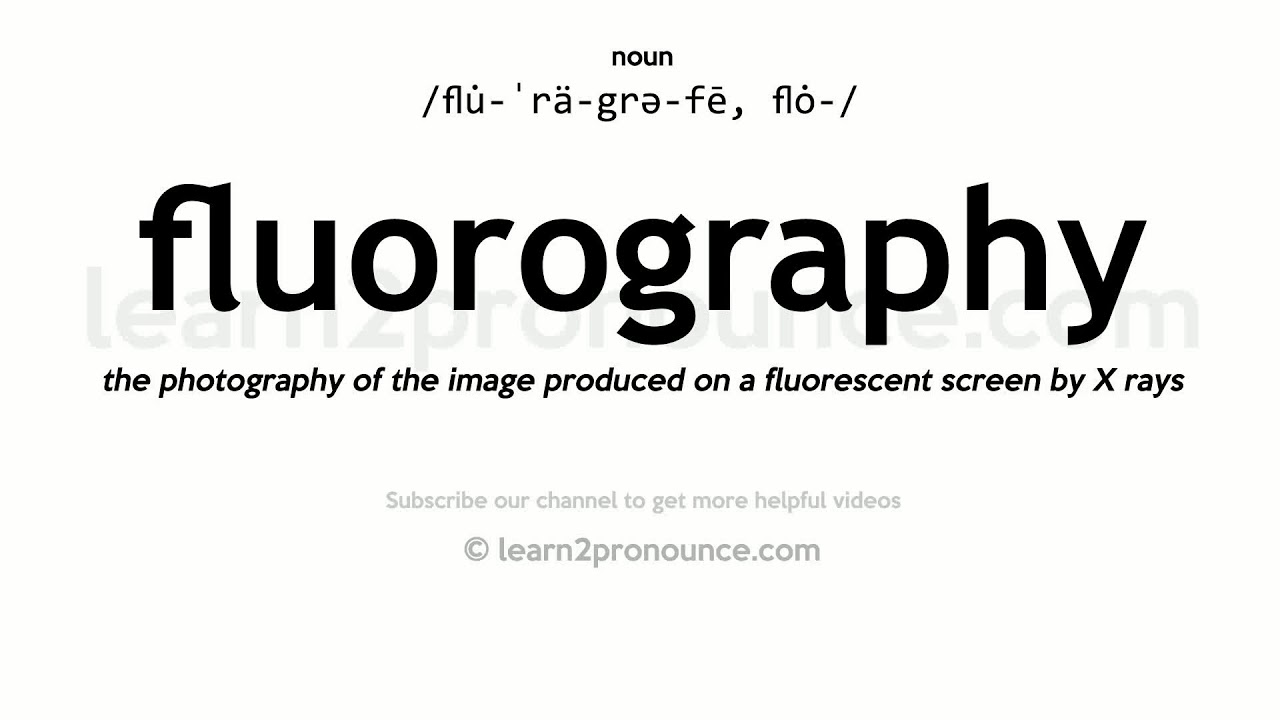 Where can I get a fluorography