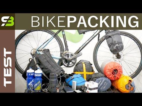 Bike Packing Gear Test: Tent, Sleeping Bag, Bicycle Bags, Mattress, Power Bank Etc.