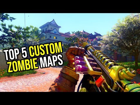 Top 5 Custom Zombies Maps In 2019... (Call Of Duty Black Ops 3)