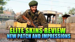 New Elite Skins - Any Good? Patch Impressions Battlefield V