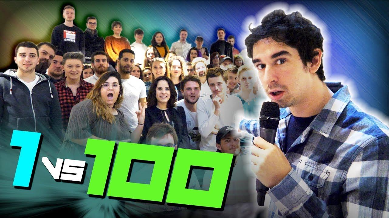 DUEL DE BLAGUES : SEUL CONTRE 100