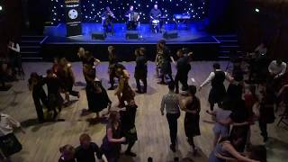 Scottish Ceilidh Dancing - The Military Two-Step with HotScotch Ceilidh Band in Edinburgh