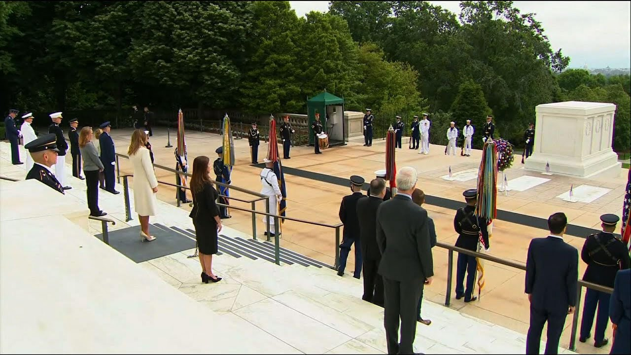 Biden observes Memorial Day at Arlington Cemetery with calls for ...