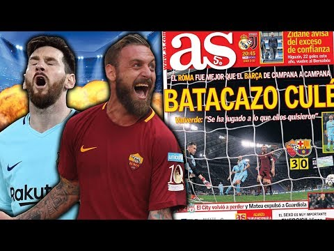 Roma 3-0 Barcelona | The Most SHOCKING Comeback In UCL History?! | #UCLReview