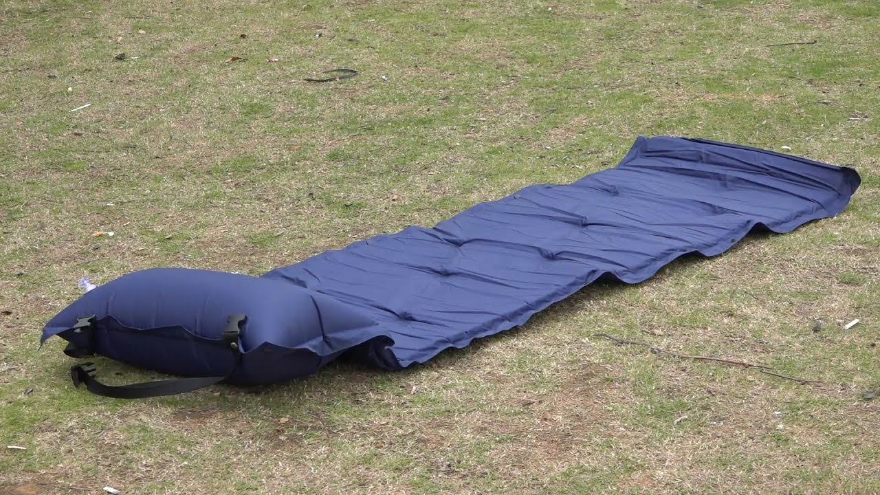auto inflate air mattress Outdoor Camping Thick Automatic Inflatable Mattress Self Inflating  auto inflate air mattress