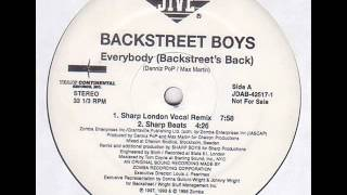 Backstreet Boys- Everybody(Sharp London Vocal mix)