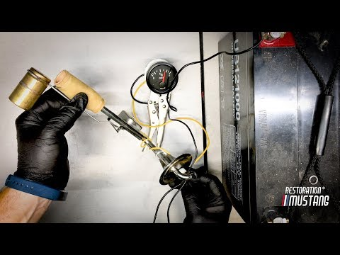 ford fuel sending unit wiring how to test a fuel sending unit   gauge old school way youtube  how to test a fuel sending unit   gauge