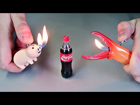 8 Weirdest Lighters Ever Made!