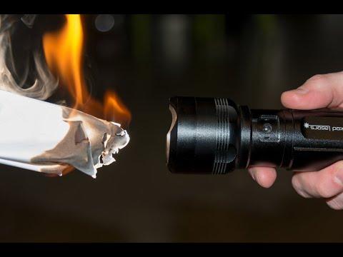 مصباح ساطع جدًا إلى درجة أنه يشعل النار