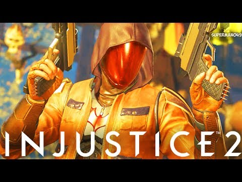 "RED HOOD FIGHTS BATMAN! - Injustice 2 ""Red Hood"" Gameplay (Online Ranked)"
