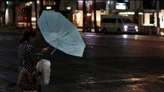 Son 50 yılın en şiddetli tayfunu Tokyo'ya ulaştı