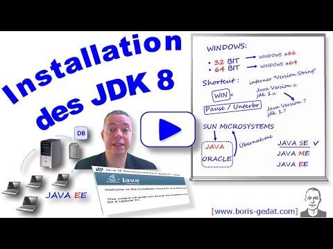 Installation Des JDK 8 (Java Development Kit) Auf Windows 10