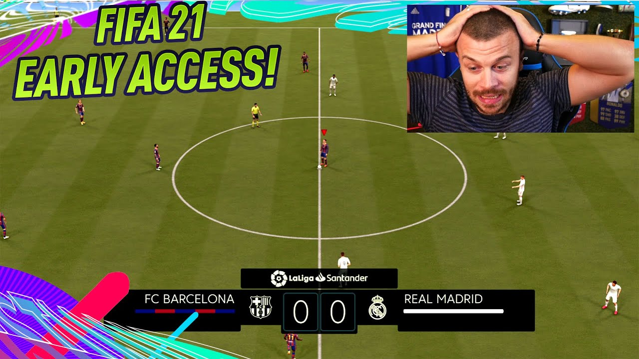 FIFA 21 EARLY ACCESS FULL VERSION! OFFICIAL GAMEPLAY REVIEW - BARCELONA vs REAL MADRID!
