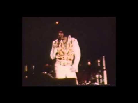 Elvis Live in Dayton, Ohio, October 26th, 1976.