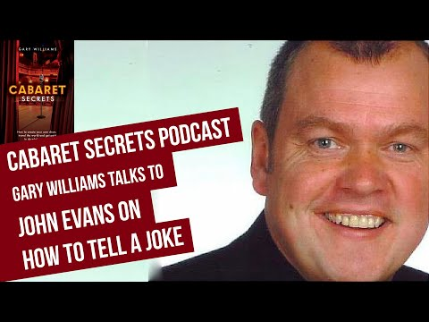How to tell a joke by comedian John Evans.
